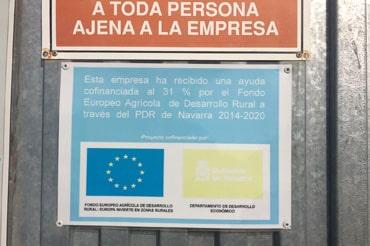 Empresa cofinanciada Fondo Europeo Agrícola